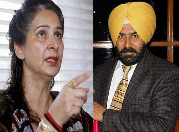 navjot kaur sidhu pargat and not in the name of the first list