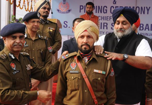 5624 was the promotion of police personnel