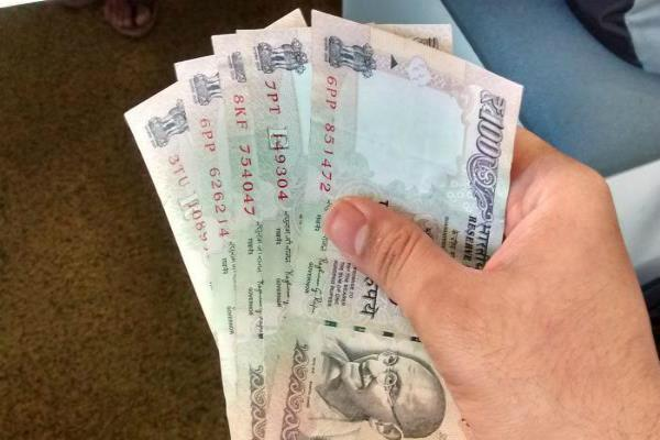 rupee gain 8 paise against dollar