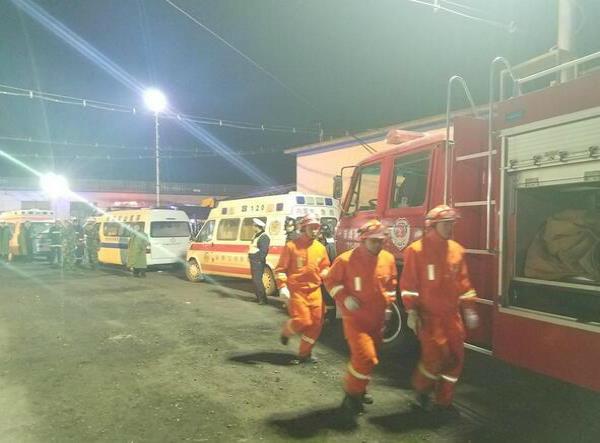 china coal mine blast 59 people killed