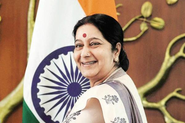 sushma swaraj also in global thinkers list 2016