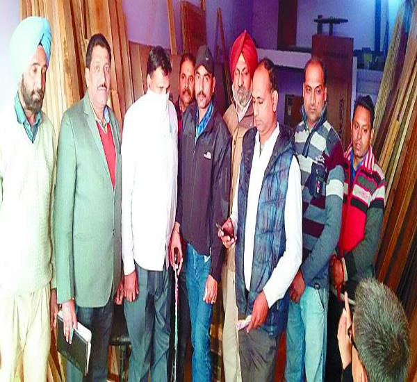 punjab state power corporation je arrested with bribe