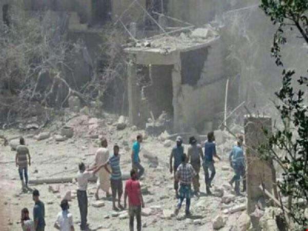 russia intensified airstrikes in idlib and aleppo