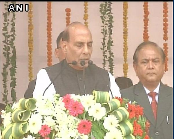 rajnath in lucknow are dedicated to the development of the atal bihari