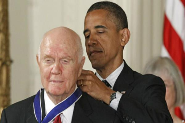 john glenn former us astronaut and senator hospitalized