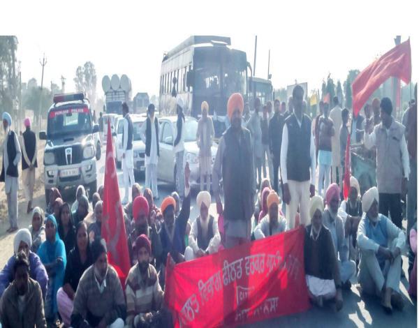protest against harsimrat kaur badal