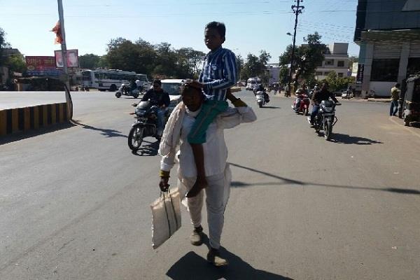 madhya pradesh shocking story of a man