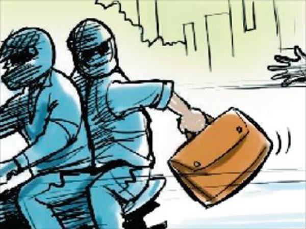 militants bank loot captured in camera