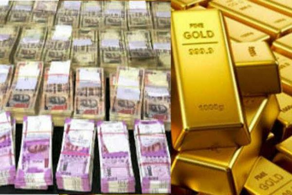 noida  rs 2 60 crore in cash  95 kg gold seized