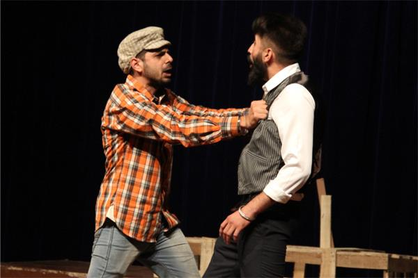 the last day of winter fastivl theater play   thand da intjaam   dstaged