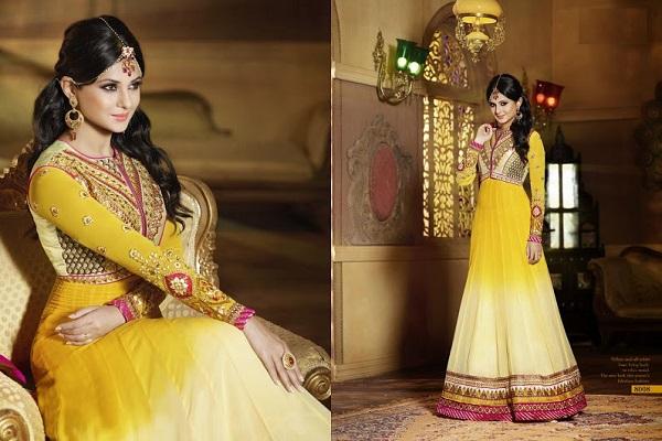 makeup with suit and saree