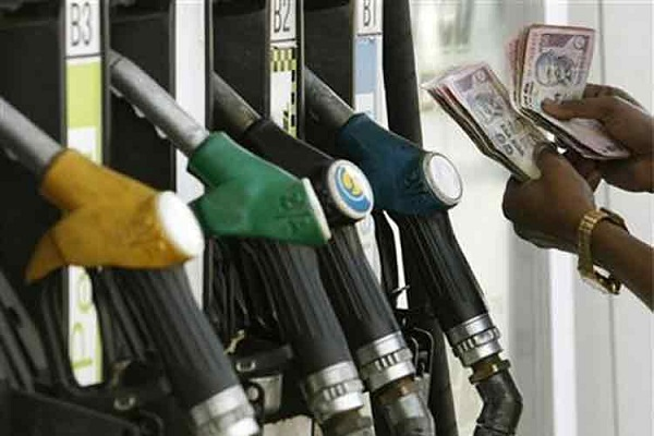 price of petrol reduced to 32 paise per litre