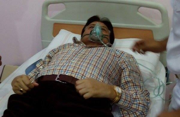 former pakistani president musharraf s deteriorated health hospitalized