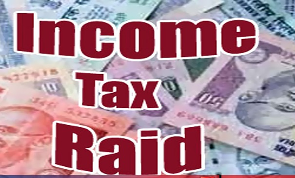 income tax raid on business houses