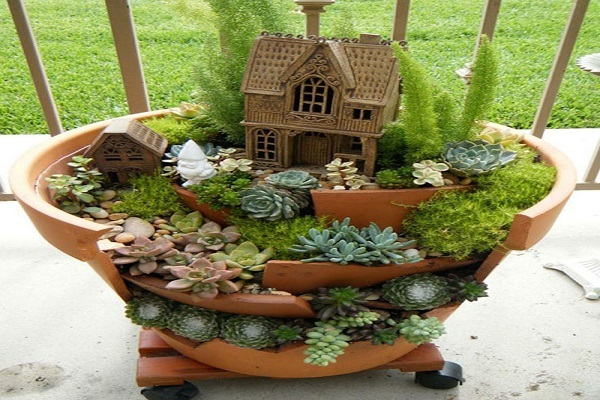 furnish your home is such a miniature garden