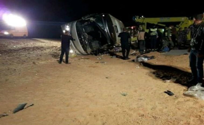 jordan bus crash 14 dead