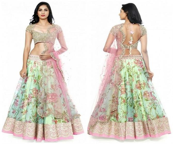 wedding outfits worn such lehenga