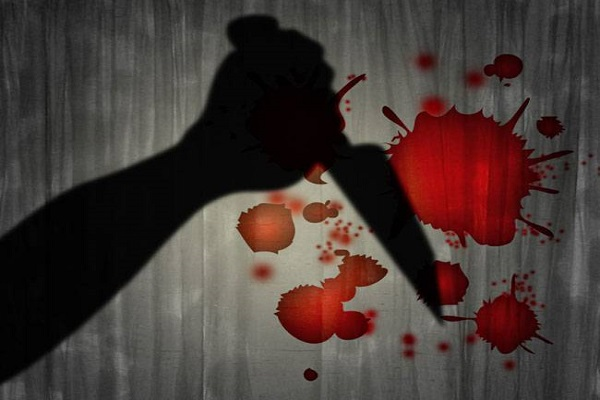 criminal foul in up slitting throat and killing a person
