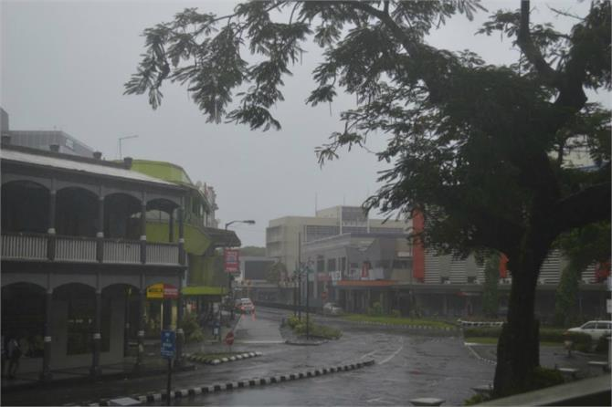 after the cyclone damage curfew in fiji
