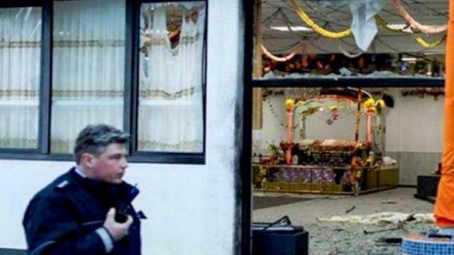 germany gurdwara blast police hunt for 2 men reward announced