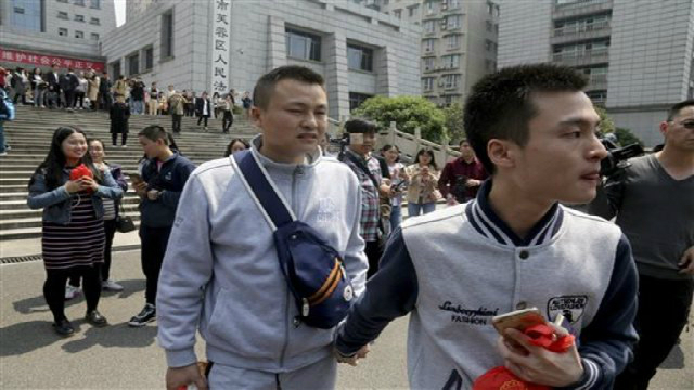 judge rules against couple in china first gay marriage case