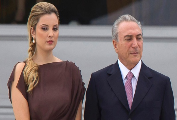 michel temer and his wife marcela temer