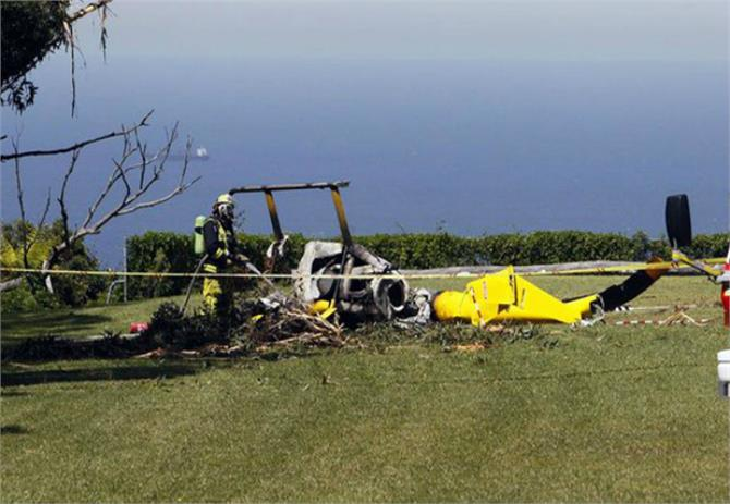 4 french cops die in helicopter crashed