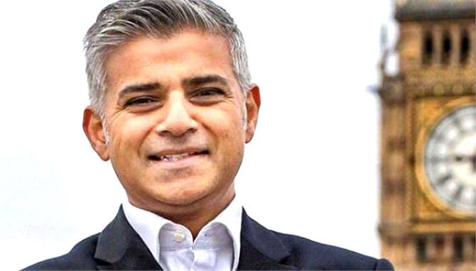 london elected sadiq khan as first muslim mayor