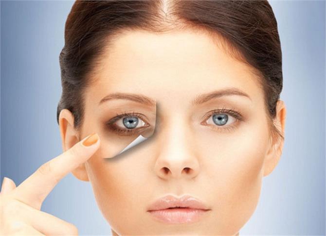 Image result for आंखों के डार्क सर्कल्स से पाना चाहते हैं छुटकारा तो अपनाएं यह तरीका