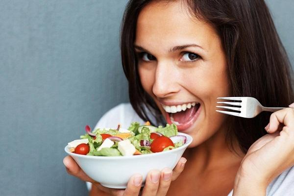 fruit vegetable mixed salad