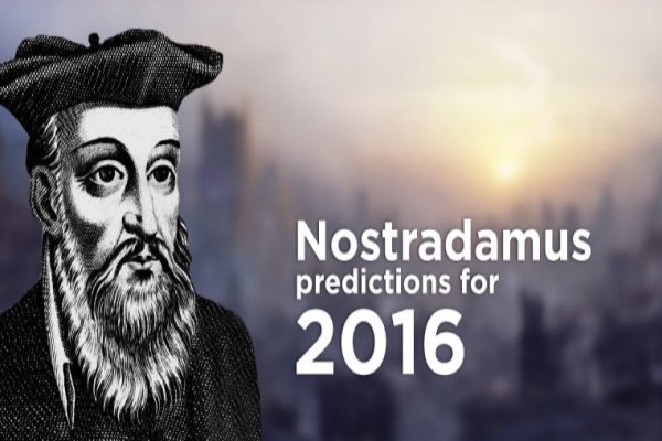 nostradamus predictions for the year 2016