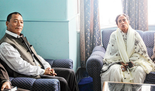 gurung demanded to mamta agreement sought to implement the gta
