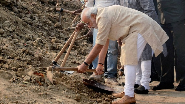 prime minister clean india campaign