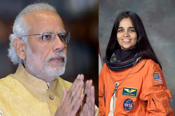 pm modi tribute to kalpna chawla an astronaut of india