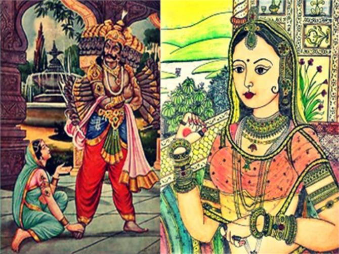 Image result for mandodari ramayan