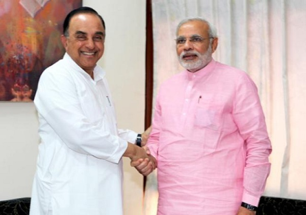 subramanian swamy tweets again not naming modi but on his publicity comment
