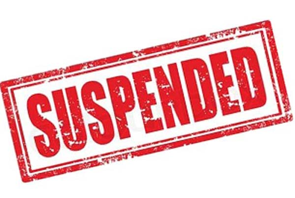 4 teachers suspended for doing wrong job