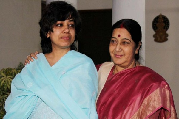 swaraj directly from afghanistan and the release of judith dsouza