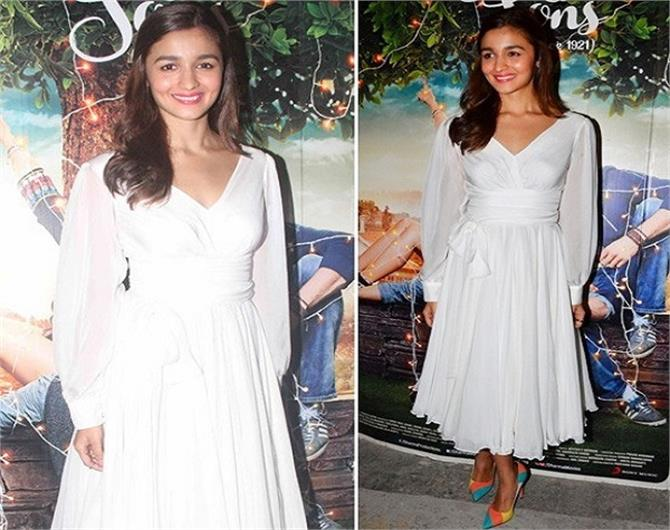 bollywood actress looks great in white color