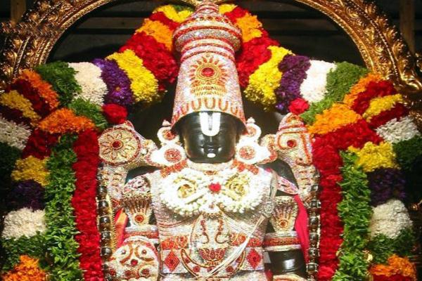 वेंकटेश्वर के विश्व प्रसिद्ध धार्मिक स्थल तिरुपति बालाजी मंदिर के लिए इमेज परिणाम