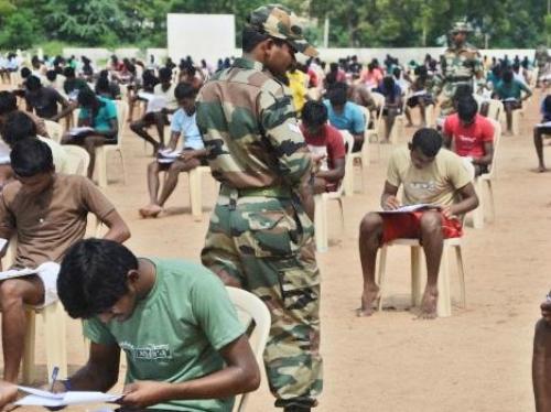 military recruitment online test