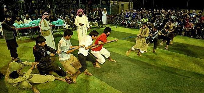 isis organise jihad olympics