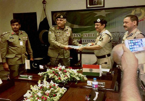 bsf and pakistan rangers meeting held in lahore