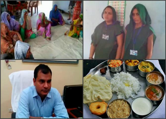 the extent of discrimination by eating food prepared by dalits denies pregnant women