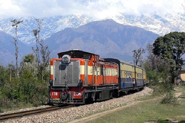 pathankot jogindernagar rail track railway department