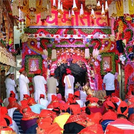 preparation start for navratri in vaishno devi