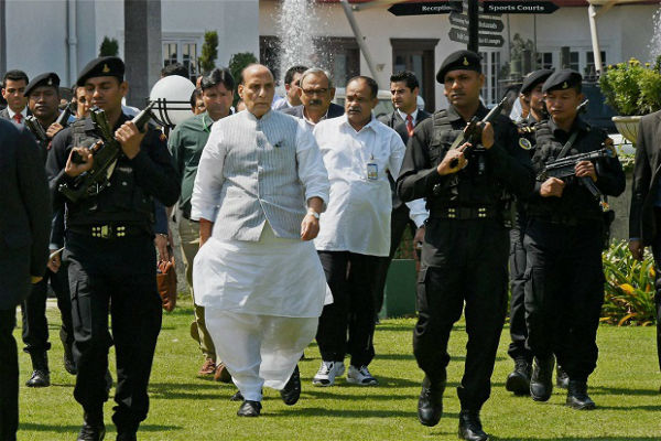 rajnath singh calls for a review meeting over uriattack