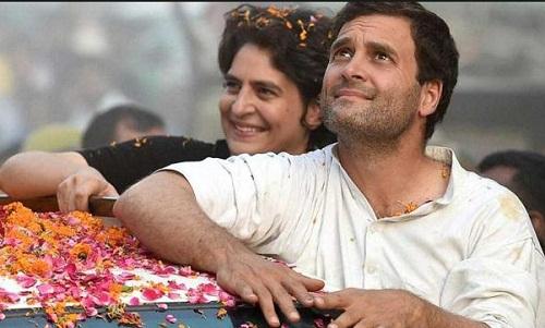 congress rahul gandhi priyanka gandhi narendra modi