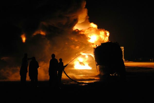 bus fuel tanker collision kills 35 in afghanistan