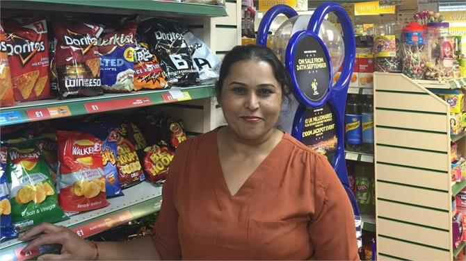 london based punjabi aunty made an armed robber wait